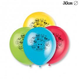 8 Globos con Emoticonos 30 cm