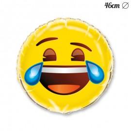 Globo Foil con Emoticono Llorón 46 cm