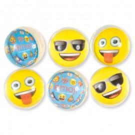 6 Pelotas con Emoticonos Saltarinas