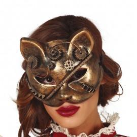 Máscara Gato Steampunk