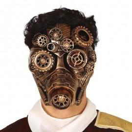 Máscara Oro Steampunk