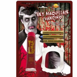 Maquillaje Vampiro Con Sangre 20 ml