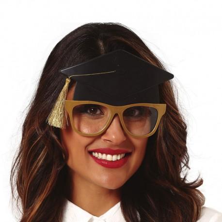 Gafas Estudiante Con Birrete