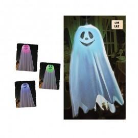 Colgante Fantasma Con Luz 60 Cms