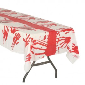 Mantel Plástico Sangre 135X270 Cms