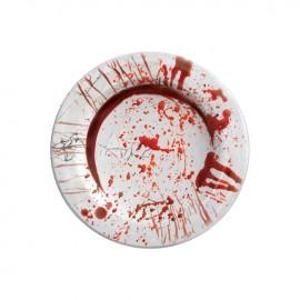 8 Platos Sangre 23 Cms