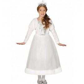 Disfraz Princesa Blanco Infantil