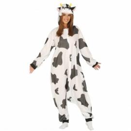 Disfraz Pijama Vaca Adulto