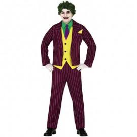 Disfraz Crazy Villain Adulto