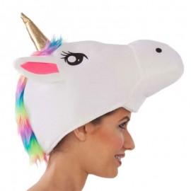 Gorro Cabeza Unicornio