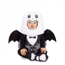 Disfraz de Fantasma Cabezón para Bebé