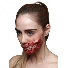 Cicatriz Látex Boca Zombie