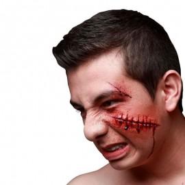 Cicatriz Látex Zombie