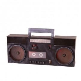 Radiocassette Fantasma con Luz y Sonido