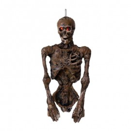 Medio Esqueleto Colgante con Luz