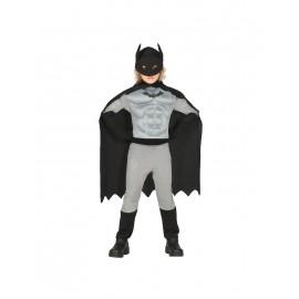 Difraz Bat Boy Musculoso para Niño