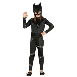 Disfraz de Cat Girl Negra para Niña