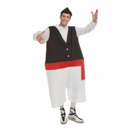 Disfraz de Huertano Gordo para Hombre
