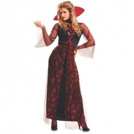 Disfraz de Vampiresa Roja para Mujer