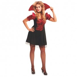Disfraz de Vampiresa Chic para Mujer