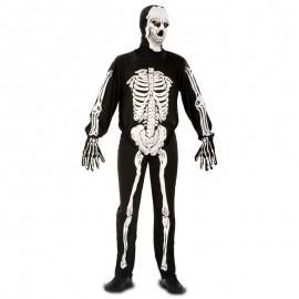 Disfraz de Esqueleto Entero Adulto