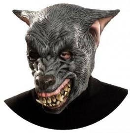 Máscara de Full Hombre Lobo de Látex