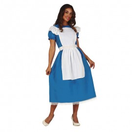 Disfraz Blue Little Girl Adulto