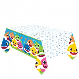 Mantel Baby Shark de Papel 1.37 x 2,60 m