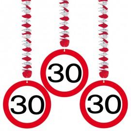 3 Colgantes 30 Traffic