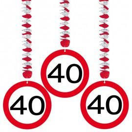 3 Colgantes 40 Traffic