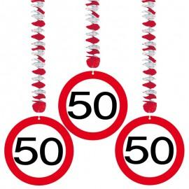 3 Colgantes 50 Traffic