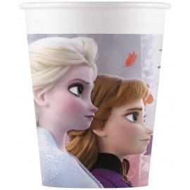 8 Vasos Frozen 2 de Papel200ml