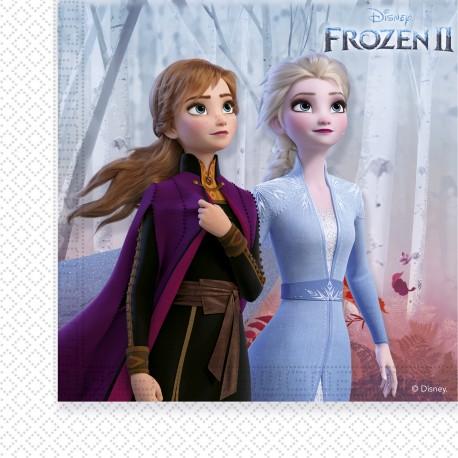 20 Servilletas Frozen 2 de 33cm