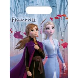 6 Bolsas de Frozen para Fiestas