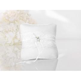 Almofada de Anel Branco com Encaixe