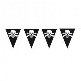Banderines Piratas 6 metros