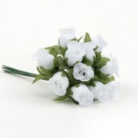 12 Ramitos de Rosas Blancas