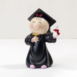 Figura Chica para Tartas de Graduación