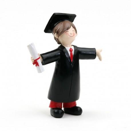 Figura para Tartas de Graduación Chico