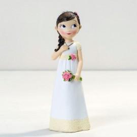 Figura Niña Vestido Romántico 16,5 cm.