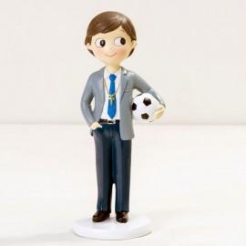 Figura Niño con Pelota 16,5 cm