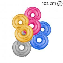 Globo Número 8 Foil 100 cm