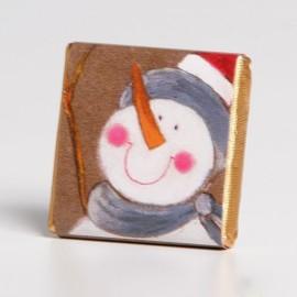 Chocolatina Muñeco de Nieve Kio