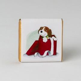 Chocolatina Individual Perro en Regalo