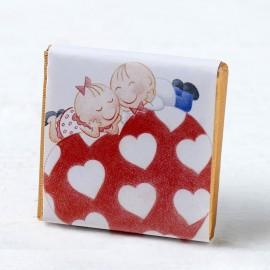 Chocolatina Pit&Pita Sobre El Corazón