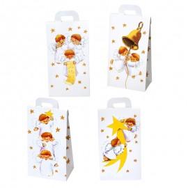 24 Cajas con Ángeles 4 Modelos Surtidos 8x17,5x5,3 cm