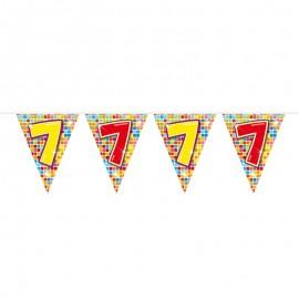 Banderín de Colorines con Número 7