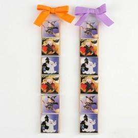 2 Estuches de 6 Chocolates Vampiro Fantasma Bruja
