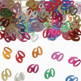Confeti Numero 60 Multicolor