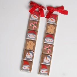 2 Estuches 6 Chocolates Snowman